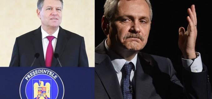 Război total între Dragnea și Iohannis. Liderul PSD îi taie salariul Președintelui