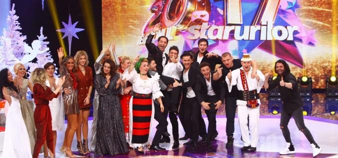 Revelionul Starurilor aduce zeci de vedete la Antena 1