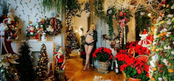 Ce graviduță sexy este designerul Anamariei Prodan. Seila Gurdal, ședință foto însărcinată în șase luni
