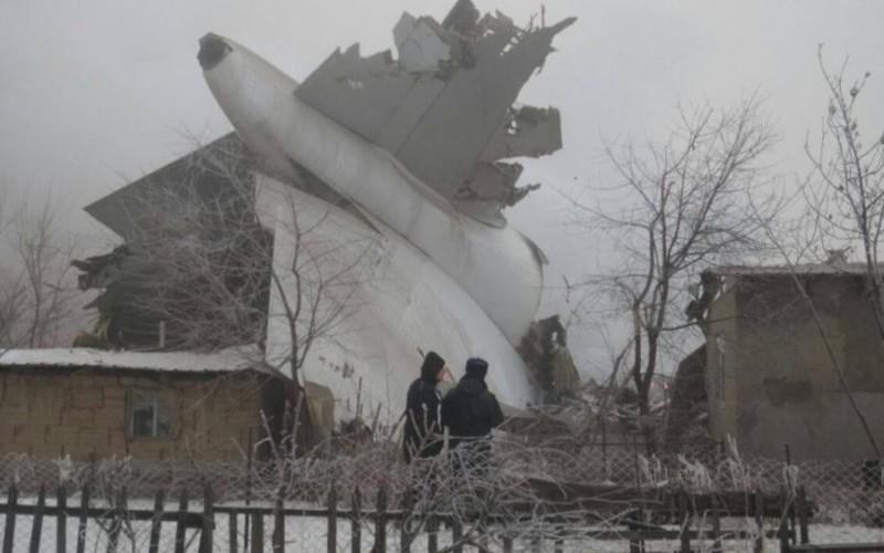 Tragedie aviatică în Kârgâzstan. Un avion turcesc de marfă s-a prăbușit. 35 de oameni au murit