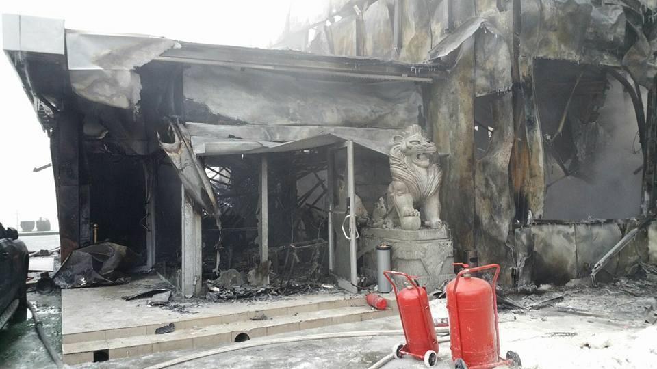 club bamboo incendiu pompieri