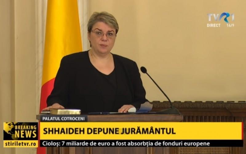 Răsturnare de situaţie. Sevil Shhaideh a devenit prim ministru în locul lui Grindeanu