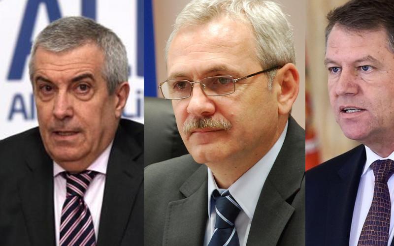 Iohannis, atac fără precedent la adresa lui Tăriceanu și Dragnea: Sunt doi mega penali