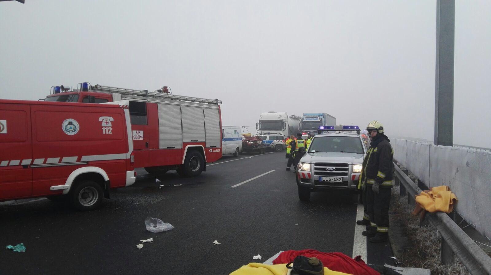 accident autocar autostrada ungaria