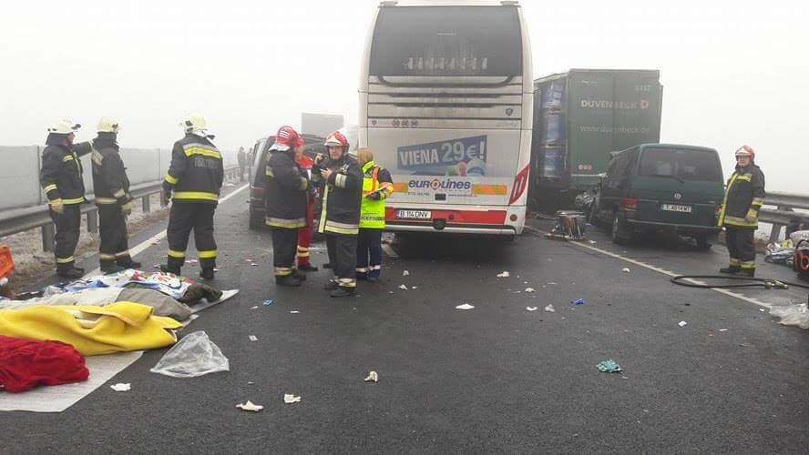 autocar romanesc accident ungaria