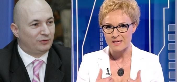Dana Grecu l-a dat afară din emisiune pe Codrin Ștefănescu – VIDEO