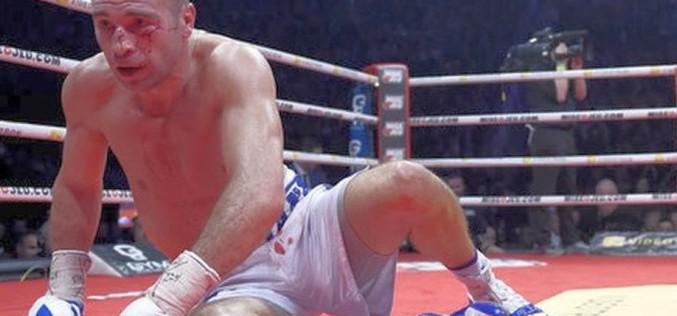 Lucian Bute e terminat. A fost trimis la podea prin KO de Eleider Alvarez