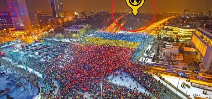 Au fost radiați fără să știe. Protestatarii din Piața Victoriei riscă să facă cancer?!