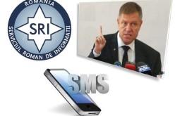 SRI aplică metoda Iohannis. A informat prin SMS, jandarmii că vin protestatari agresivi