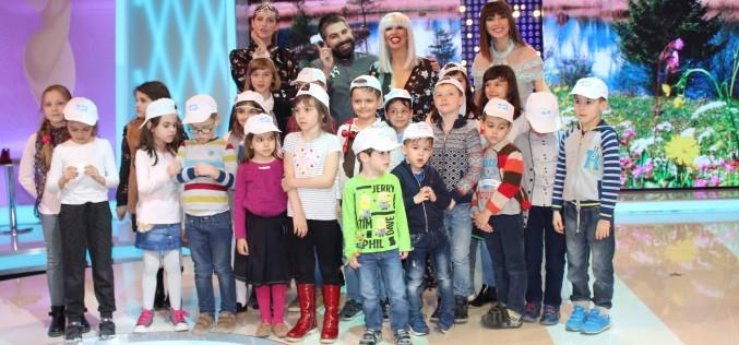 """Copii au luat cu asalt platourile Kanal D în cadrul acțiunii """"Școala Altfel"""""""