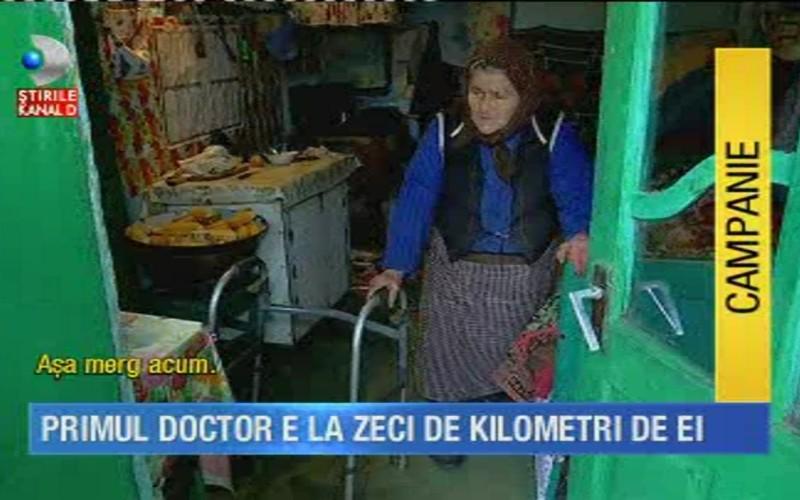 """Satele mor fara medici"", o noua campanie marca ""Stirile Kanal D"""