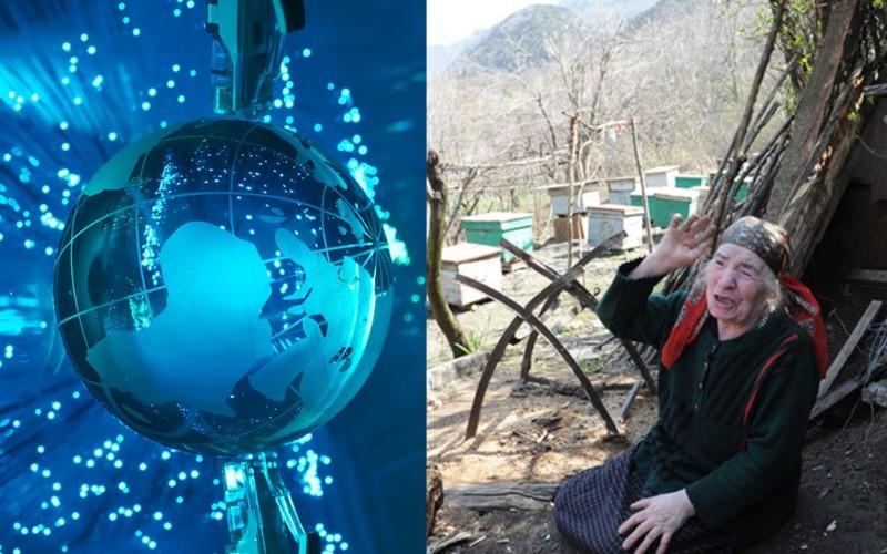 Ea este bătrâna care a lăsat două țări fără internet. Iată cum a reușit!!!