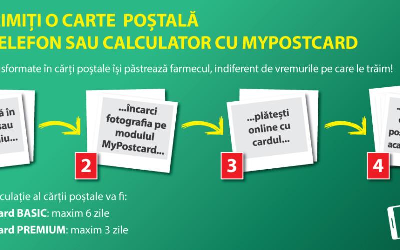 Poșta Română a lansat un serviciu prin care poți trimite cărți poștale direct de pe telefon