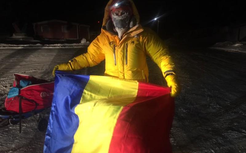 Tiberiu Ușeriu a câștigat pentru al doilea an consecutiv, ultramaratonul de la Cercul Polar