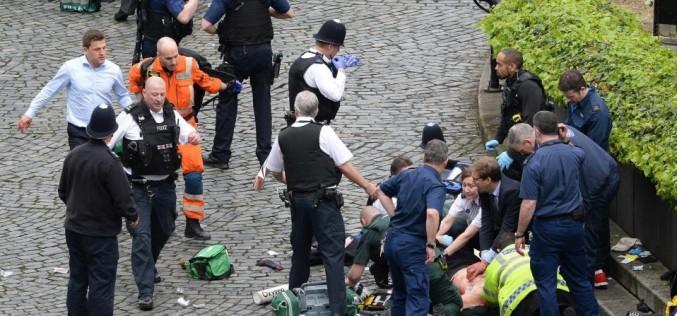 Imagini șocante cu victimele atentatului de la Londra. A fost carnagiu!!!