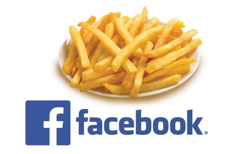Un student a fost amendat de poliție pentru că vindea cartofi prăjiți pe facebook