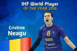 Cristina Neagu, desemnată cea mai bună jucătoare de handbal din lume