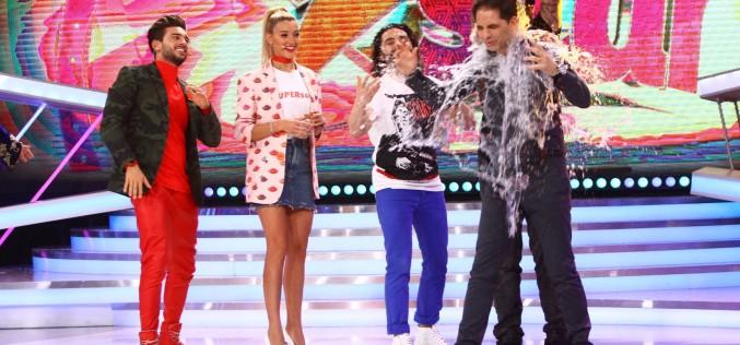 """CRBL îi toarnă o găleată cu apă în cap lui Dan Negru, la """"Next Star"""""""