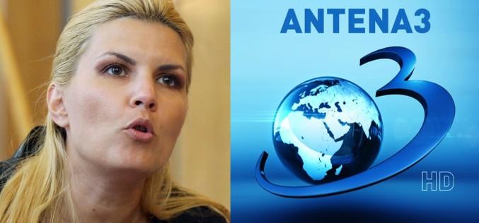 Elena Udrea anunță dezvăluiri BOMBĂ la Antena 3: Va fi pe viață și pe MOARTE, voi spune multe!!!