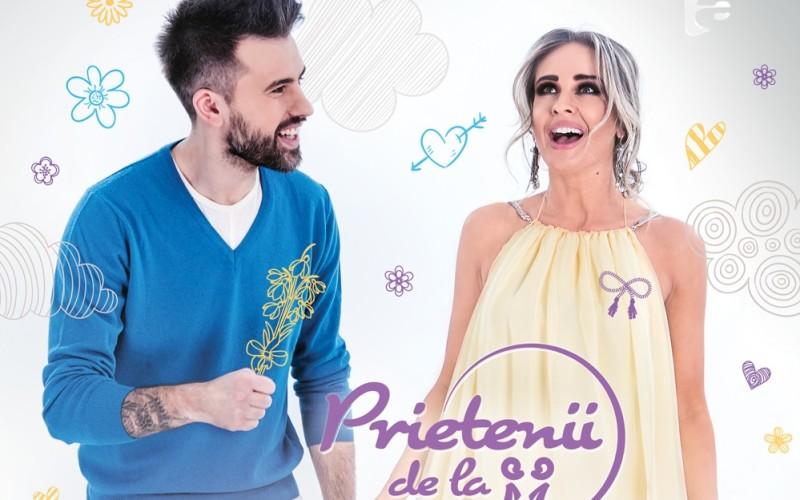 """Diana Munteanu prezintă alături de Ristei, emisiunea """"Prietenii de la 11:00"""""""