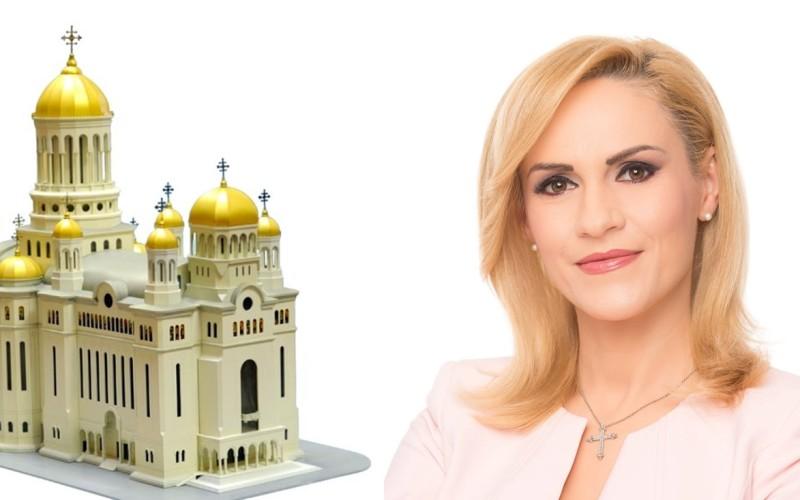 Gabi Firea vrea să doneze 12 milioane de euro din banii bucureștenilor, către biserici