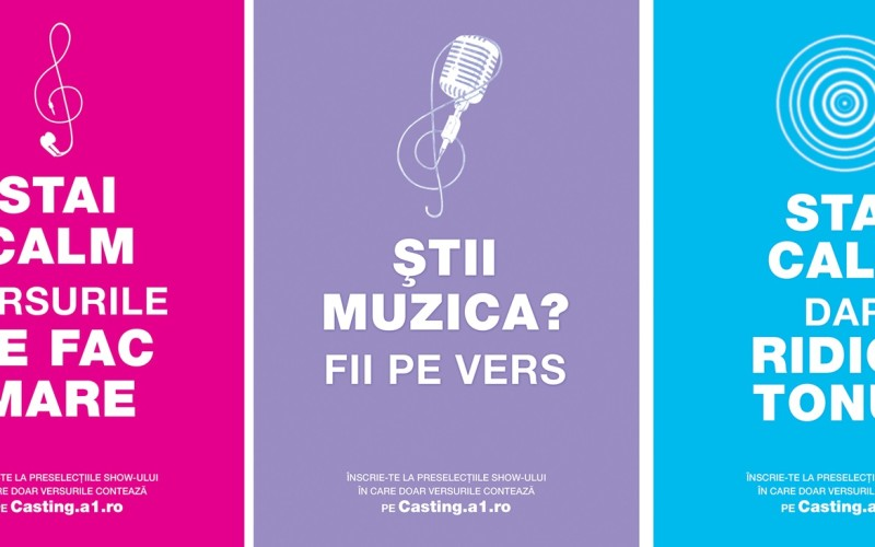 "Karaoke ""Za Za Sing"" din primăvară la Antena 1"