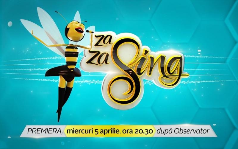 """Liviu Vîrciu cântă """"Za Za Sing"""" din 5 aprilie la Antena 1"""