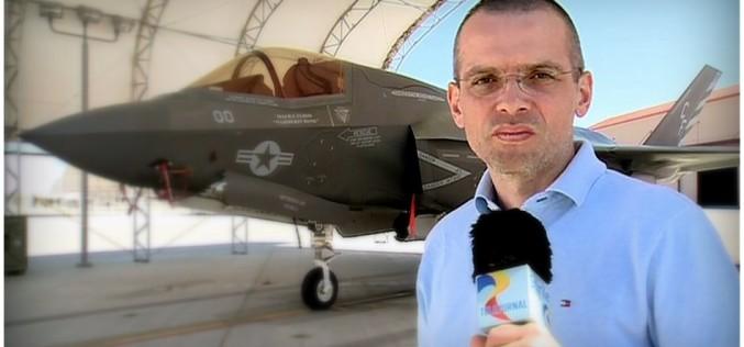 Armele viitorului, avioanele F35, filmate exclusiv de o echipă TVR