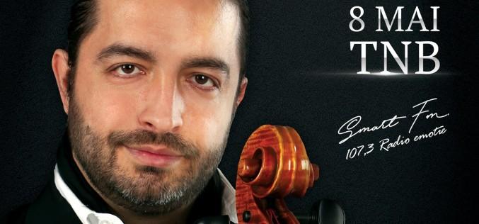 Adrian Naidin revine pe 8 mai cu un nou concert, la Teatrul Național București