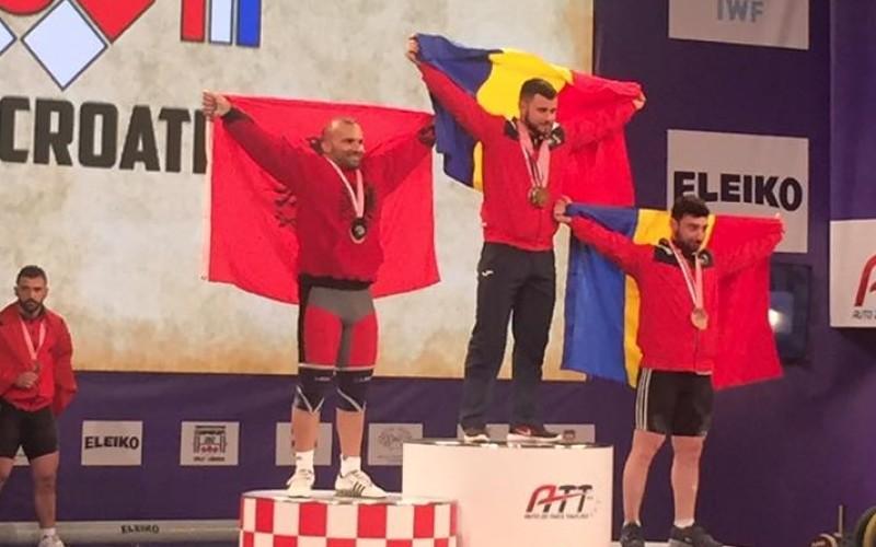 Dumitru Captari, trei medalii la Europenele din Croația. Două de aur și una de argint