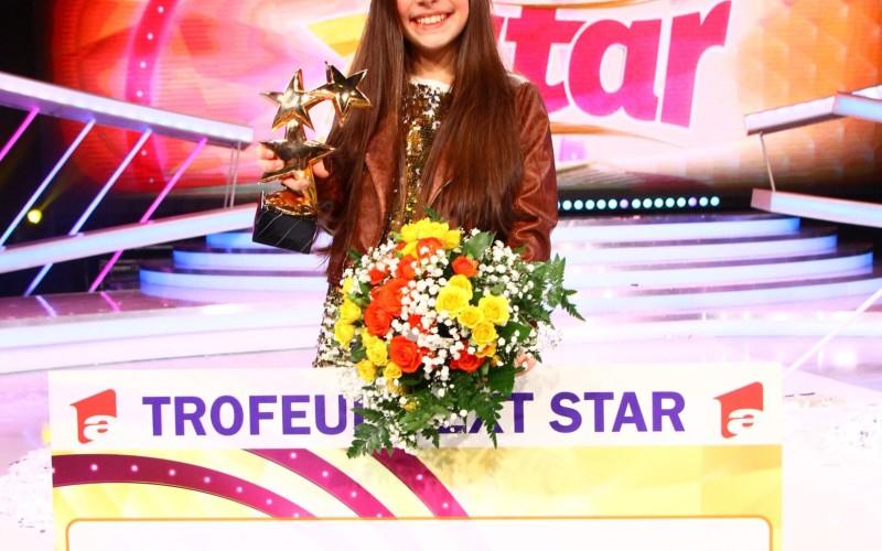 """Katia Cărbune a câștigat cel de-al optulea trofeu """"Next Star"""""""