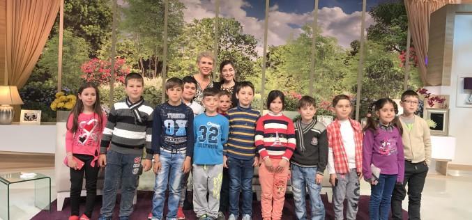 Sfatul lui Teo Trandafir pentru copii: Sa invatati carte!