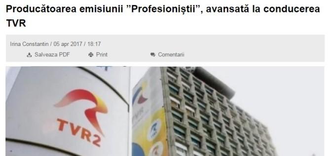 Gafă marca DcNews. Site-ul de știri anunță că TVR are procuror general!!!