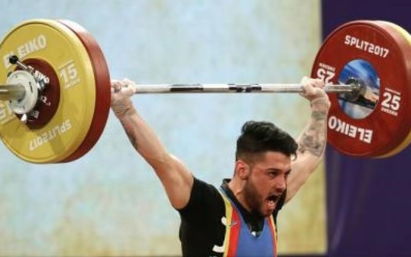 Ilie Constantin Ciotoiu, două medalii de bronz la Europenele de Haltere din Croația