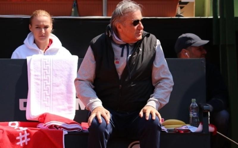 Ilie Năstase le ţine pumnii tricolorelor în partida de Fed Cup cu Canada