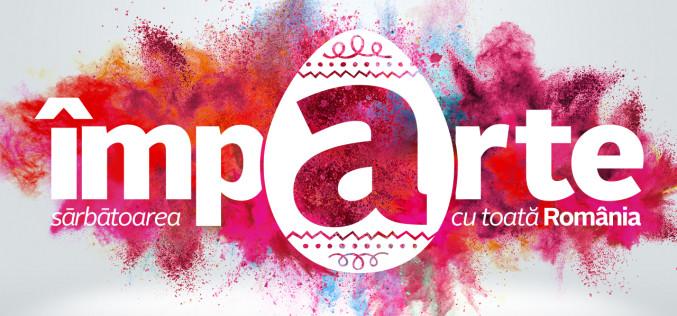 De Paște, Antena 1 împarte sărbătoarea Învierii lui Isus, cu românii