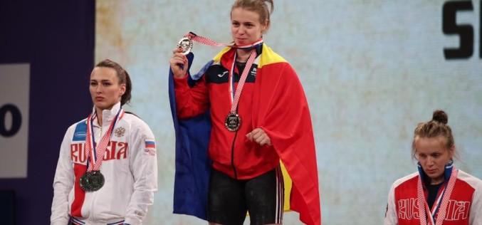 Loredana Toma a cucerit trei medalii de aur la Europenele de Haltere din Croația