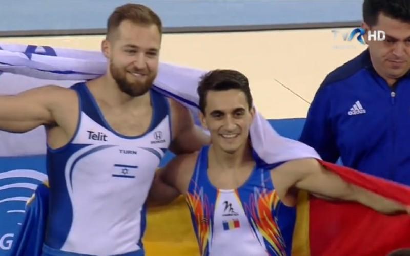 Marian Drăgulescu a cucerit medalia de aur la sol la Europenele de la Cluj