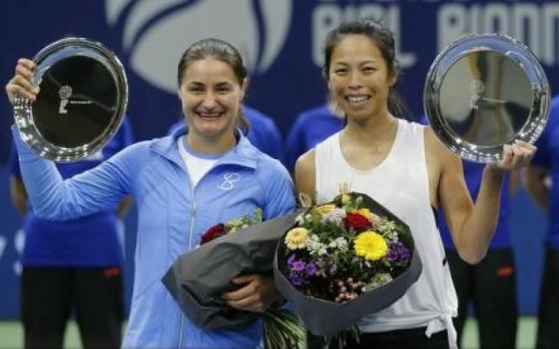 Monica Niculescu, victorie uriașă în Ziua de Paște. A câștigat turneul de dublu de la Biel