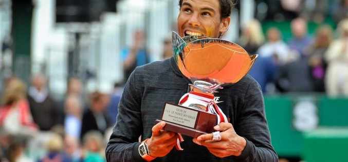 Rafael Nadal a cucerit pentru a zecea oară în carieră turneul de la Monte Carlo
