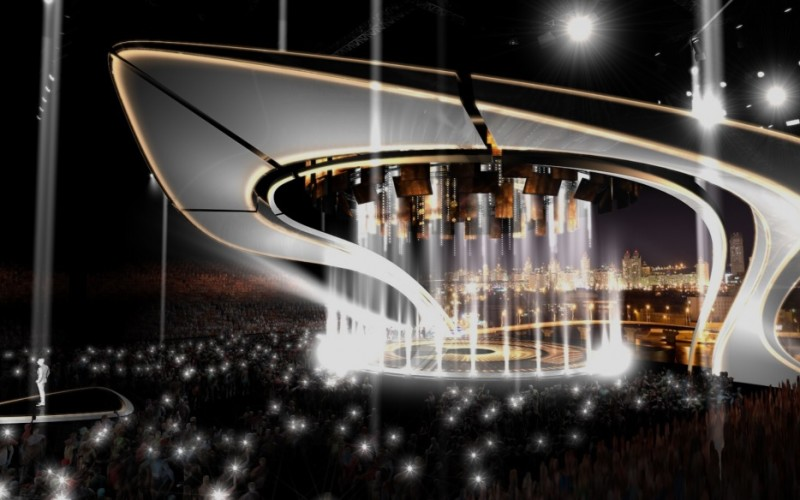 Scenă fabuloasă la Eurovision Song Contest 2017 la Kiev