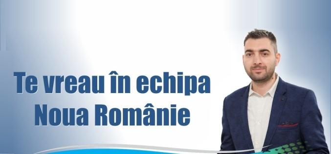 Sebastian Popescu îndeamnă românii să se înscrie în Noua Românie