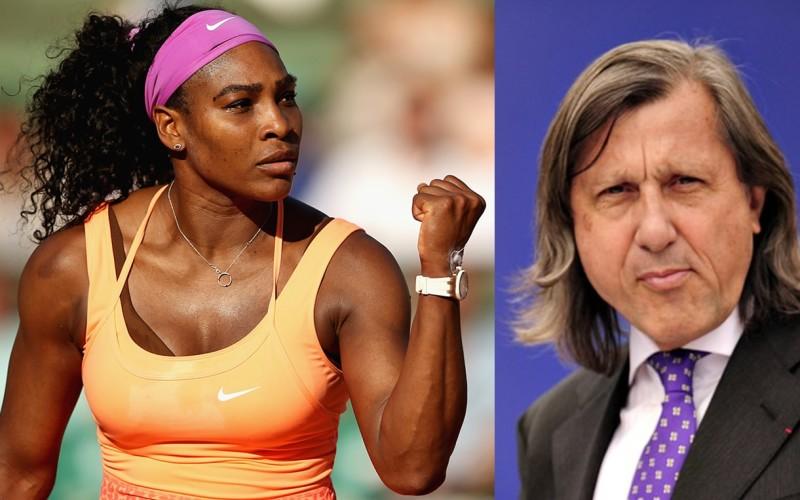 Serena Williams îl face praf pe românul Ilie Năstase