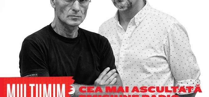 Cristian Tudor Popescu vorbește despre succesul emisiunii Avocatul Diavolului la Europa FM