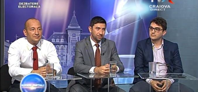 PSD, PNL și ALDE își bat joc de craioveni. Candidații celor 3 partide fug de dezbaterile televizate la Primăria Craiova