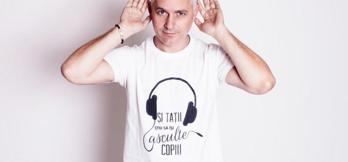 Virgil Ianțu povestește despre emoții,  în prima sa carte pentru copii