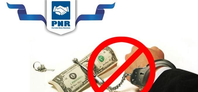 Noua Românie se opune grațierii corupților. PNR cere Parlamentului să nu se joace cu focul!