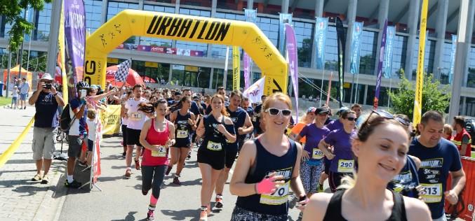 Peste 500 de participanți au alergat la URBATLON 2017!
