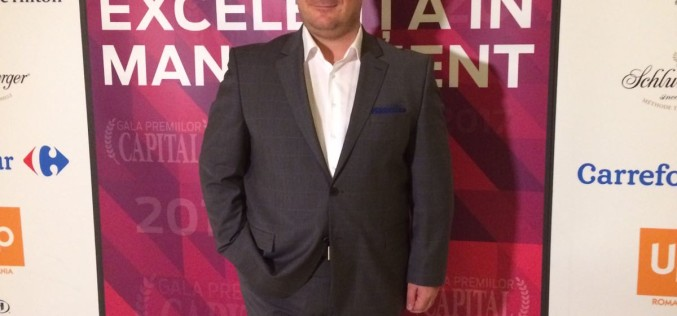 Ugur Yesil, General Manager Kanal D, premiat de revista Capital pentru Excelenta in Management