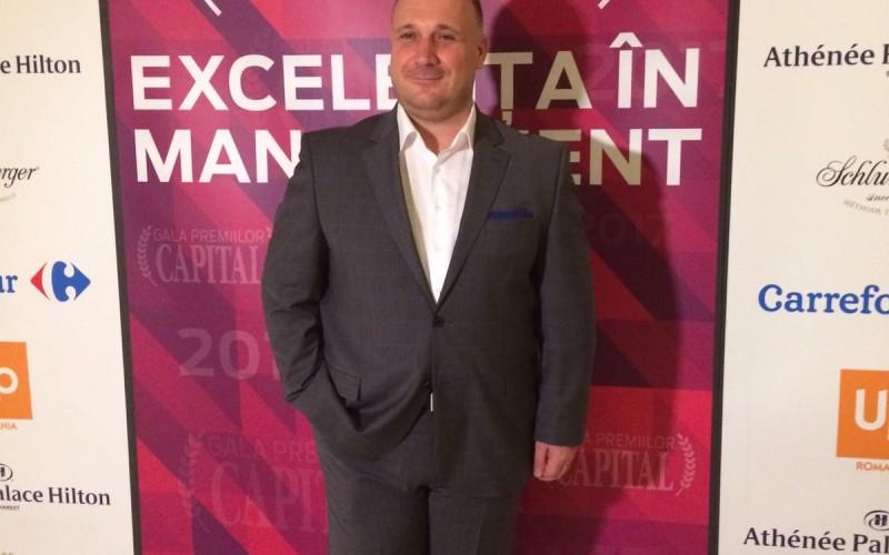 Ugur Yesil, General Manager Kanal D, premiat de revista Capital pentru Excelenta in Management